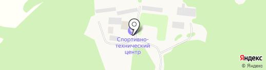 Старопышминский спортивно-технический центр на карте Старопышминска