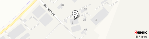 Арамильский завод ЖБИ №1 на карте Арамиля