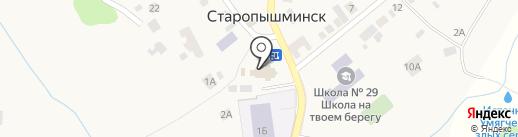 Церковная лавка на карте Старопышминска