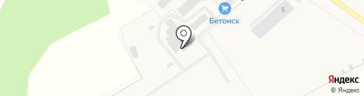 Бетон СК на карте Красного Поля
