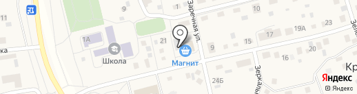 Магнит на карте Красного Поля