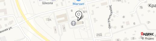 Детская школа искусств на карте Красного Поля