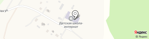 Есаульская специальная коррекционная школа-интернат на карте Есаульского