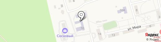 Саргазинская средняя общеобразовательная школа на карте Саргазов
