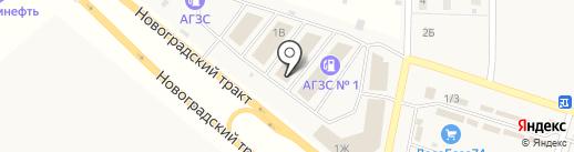 Ваш кафель на карте Челябинска
