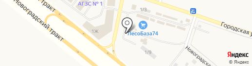 Мрамор & Гранит на карте Теремов