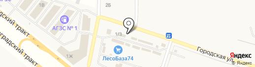 Билдинг на карте Теремов