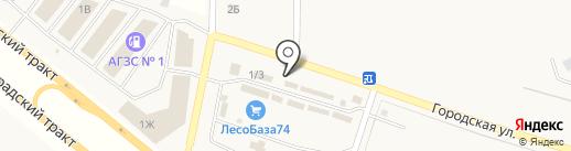 Удачная Дача на карте Теремов
