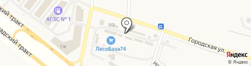 Аква на карте Теремов