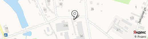 ХРУСТАЙМ на карте Саргазов