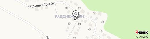 Радонежский на карте Красного Поля