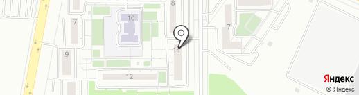 Фреш-маркет на карте Челябинска