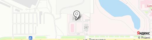 Централизованная прачечная, ГАУ на карте Челябинска
