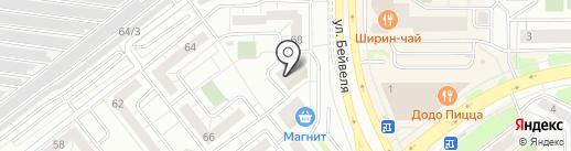 Авто Ударник на карте Челябинска