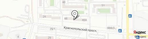 Челябинскгражданстрой на карте Челябинска