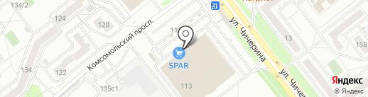 Lucia на карте Челябинска