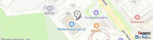 Fin на карте Челябинска