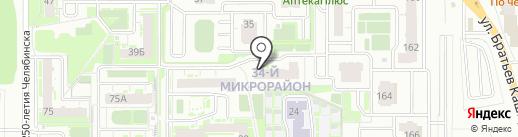Открытые Технологии на карте Челябинска