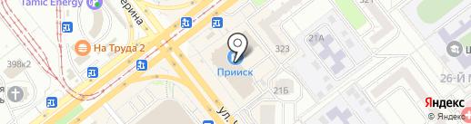 Оконный легион на карте Челябинска