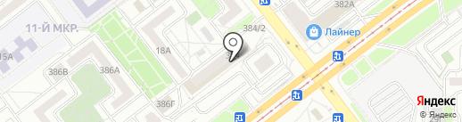 Магазин на карте Челябинска