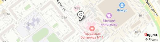 Каретный Двор на карте Челябинска