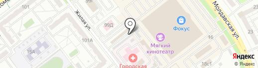 Пульс на карте Челябинска
