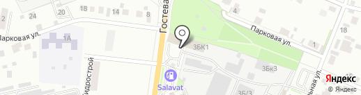 Вилгуд на карте Челябинска