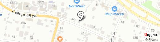 Престиж Авто на карте Челябинска