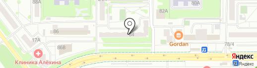 СТЕВИ на карте Челябинска