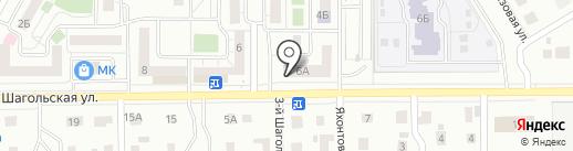 АСТ МЕБЕЛЬ на карте Челябинска