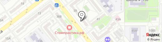 Пивная душа на карте Челябинска