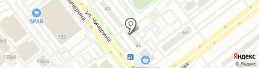 Beauty Bar на карте Челябинска