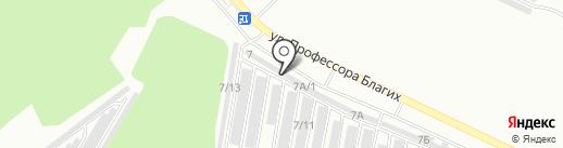 Пункт приема металлолома на карте Челябинска