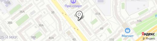Правь-Сервис на карте Челябинска