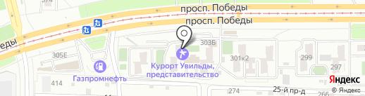Эконом-Полис на карте Челябинска