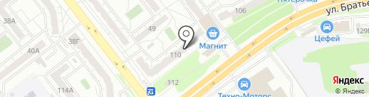 Магнит74 на карте Челябинска