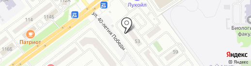 Суши BOX на карте Челябинска