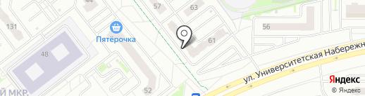 NorthWest barbershop на карте Челябинска