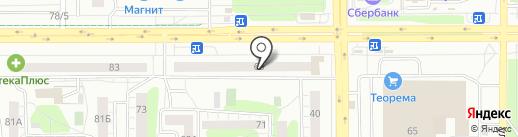 MobiGSM на карте Челябинска
