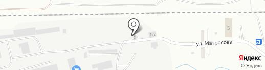 Торговый дом Кристалл на карте Челябинска