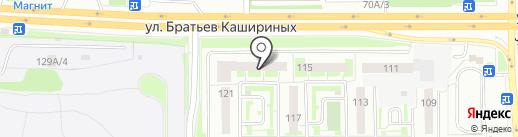 Свой процент на карте Челябинска