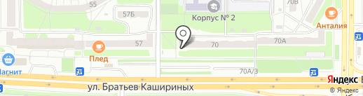Мир напитков на карте Челябинска