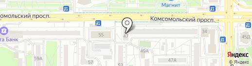 LAK на карте Челябинска