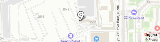 Оптовая компания на карте Челябинска