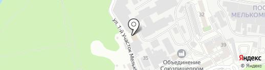 BMW Гараж на карте Челябинска