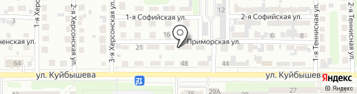 АвтоМастер на карте Челябинска