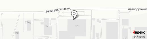 ТРАСТ-ЗАЩИТА на карте Челябинска