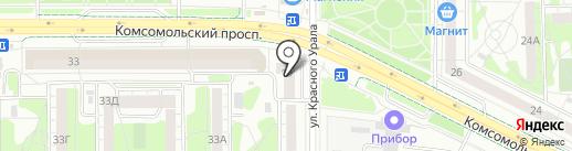 Cat`s eyes на карте Челябинска