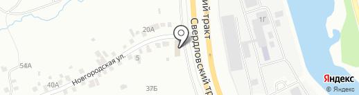 Добросфера 174 на карте Челябинска