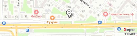 Главпечьторг на карте Челябинска